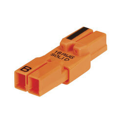 PowerPlug Luminaire Disconnect 18 AWG Solid<br>2-Wire (Pack of 100) Product Image