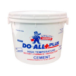 1/2 Gal. DO-ALL+PLUS Furnace Cement Product Image