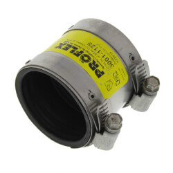"1-1/2"" x 1-1/4"" ProFlex Coupling (Cast Iron, PVC, Steel to Copper or 1"" PVC) Product Image"