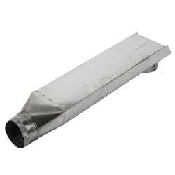 "4"" Straight Aluminum Dryer Duct (Extends 24"" to 41"") Product Image"