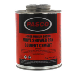 Vinyl Shower Pan Cement Product Image