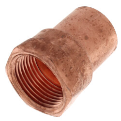 "1"" Copper x Female Adapter Product Image"