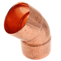 "2-1/2"" Copper 45° Elbow Product Image"