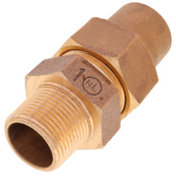 """1"""" Flare x MNPT Coupling - T-4100NL (No Lead Bronze) Product Image"""