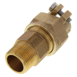 "3/4"" Pack Joint (CTS) x MNPT Coupling - T-4300NL (No Lead Bronze) Product Image"