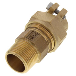 "1"" Pack Joint (CTS) x MNPT Coupling - T-4300NL (No Lead Bronze) Product Image"