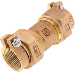 "1"" Pack Joint (CTS) Union -T-4301NL (No Lead Bronze) Product Image"