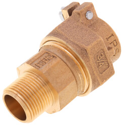 "3/4"" PE Pipe (IPS) x MNPT Coupling - T-4320NL (No Lead Bronze) Product Image"