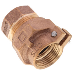 """1"""" Pack Joint (CTS) x FNPT Coupling - T-4305NL (No Lead Bronze) Product Image"""