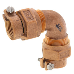 """3/4"""" Pack Joint (CTS) 1/4 Bend - T-4411NL (No Lead Bronze) Product Image"""