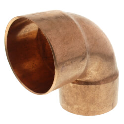 "3"" Copper 90° Elbow Product Image"