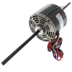 PSC Dbl Shaft Fan/Blower Motor w/o Capacitor (230V, 1/3 HP, 1075 RPM) Product Image