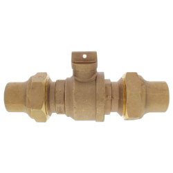 "2"" Flare x Flare Curb Stop - T-5200NL (No Lead Bronze) Product Image"