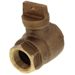 "3/4"" FNPT x FNPT Curb Stop - T-5500NL (No Lead Bronze) Product Image"