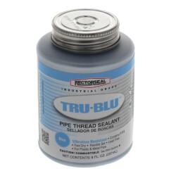 RectorSeal Tru-Blu Pipe Thread Sealant w/ Brush Top (8 oz.) Product Image