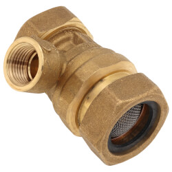 """1/2"""" Brass Backflow Preventer (Sweat) Product Image"""