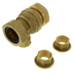 "1/2"" Brass Backflow Preventer (Union FNPT) Product Image"