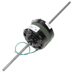 "4-5/16"" 1-Spd Dbl Shaft Shaded Pole Blower Motor (115V, 1550 RPM, 1/25 HP) Product Image"