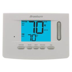 Multi-Stage Thermostat<br>w/ Keypad Lockout Product Image