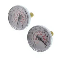 "Manifold Thermometer for 1-1/4"" Stainless Steel Manifolds (Box of 2) Product Image"