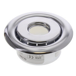 "1/2"" NPT 2 Piece Recessed Chrome Escutcheon<br> (3/4"" Adj. x 2-7/8"" Dia.) Product Image"