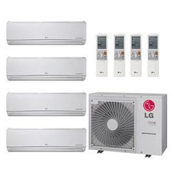 28,000 BTU 22 SEER Ductless 4 Zone Heat Pump Package (7+7+7+7) Product Image