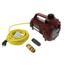 1/2 HP Model 331, 115V<br>Portable Transfer Pump<br>w/ Garden Hose Conn. Product Image