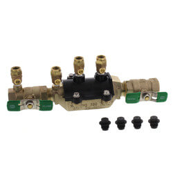 "3/4"" Wilkins 350XL Double Check Valve Assembly (Lead Free) Product Image"