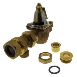 "1/2"" Brass Combination Boiler Feed Valve & Backflow (NPT x NPT) Product Image"