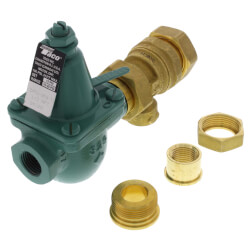 "1/2"" Cast Iron Combination Boiler Feed Valve & Backflow (NPT x NPT) Product Image"