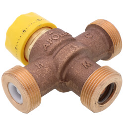 """3/4"""" Solder MVA Thermostatic Mixing Valve (Lead-Free) Product Image"""