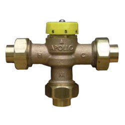 """3/4"""" FNPT MVA Thermostatic Mixing Valve (Lead-Free) Product Image"""