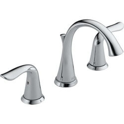Lahara Two Handle Widespread Lav Faucet (Metal Pop-Up Drain, DST) Product Image