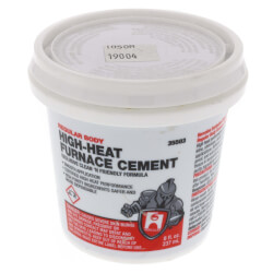 1/2 pt. Regular Body Furnace Cement Product Image
