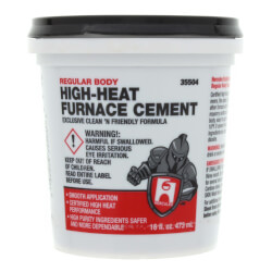 1 pt. Regular Body Furnace Cement Product Image