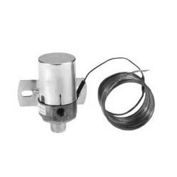 "TH 357 4"" Limitem Liquid Filled Remote Bulb Thermostat (20° to 100°F) Product Image"