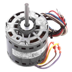 "5-1/2"" 3 Speed Direct Drive Furnace Motor 1/2 HP, 1075 RPM (115V) Product Image"