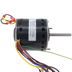 "5-1/2"" 3 Speed Direct Drive Furnace Motor 1/2 HP, 1075 RPM (208-230V) Product Image"