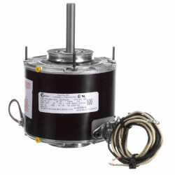 "5"" Totally Enclosed Fan/Blower Motor (2.6A, 115V, 1075 RPM, 1/6 HP) Product Image"