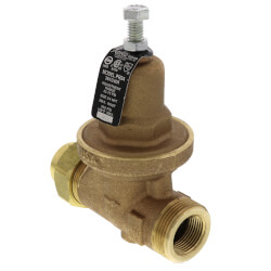 "3/4"" Pressure Reducing Valve Single Union FNPT x FNPT (25 - 75 psig) Product Image"