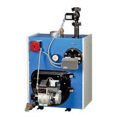 TR-40-1.60-P -160,000 BTU Packaged Intrepid Water Oil Boiler w/ Burner Product Image