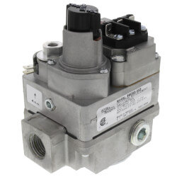"24V Gas Valve, 1/2"" X 3/4"" Side Outlets Tapped<br>& Plugged Product Image"