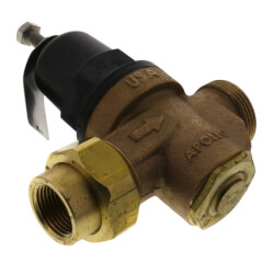 "3/4"" Single Union NPT x NPT Pressure Reducing Valve (75 - 125 psi) Product Image"