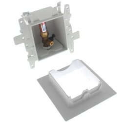 Moda Ice Maker Outlet Box w/ 1/4 Turn Lead Free Valve (ProPEX) Product Image
