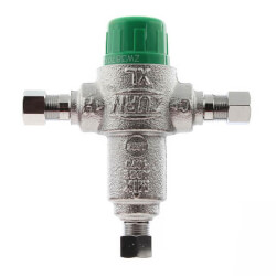 """3/8"""" Thermostatic Mixing Valve, Lead Free (Compression) Product Image"""