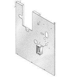 Panel, left side, with insulation (Propane Gas) Product Image