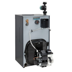WGO-3R - 85,000 BTU Output Cast Iron Gold Oil Boiler - Series 4 (NG) Product Image