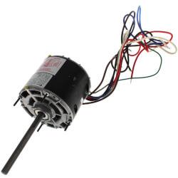 3-Speed Single Shaft Blower Motor (115V, 1050 RPM, 1/4, 1/5, 1/7 HP) Product Image