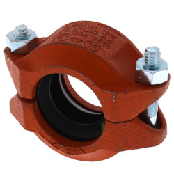 """1-1/2"""" 7001 Grooved Coupling w/ EPDM Gasket Product Image"""