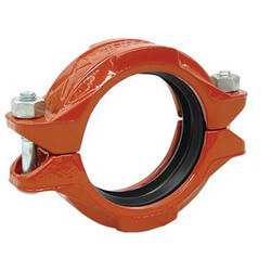 "2-1/2"" 7401 Rigidlok Coupling w/ EPDM Gasket Product Image"